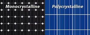 mono-poly-crystalline