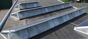 schaduw op dak