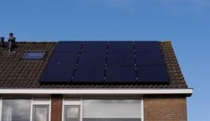 panelen op het dak zonneflex